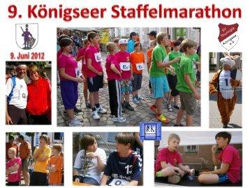 9. Königseer Staffelmarathon am 9. Juni 2012