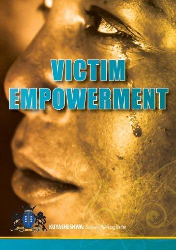 Victim Empowerment Booklet - Gauteng Online