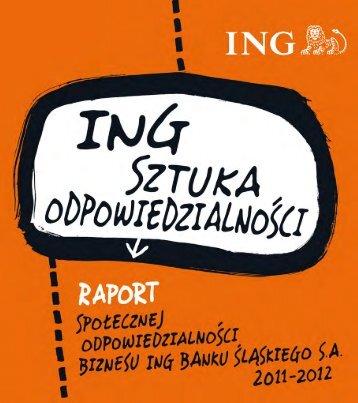 pracownicY: paSJa tworzenia - Raport roczny 2012 - ING Bank Śląski