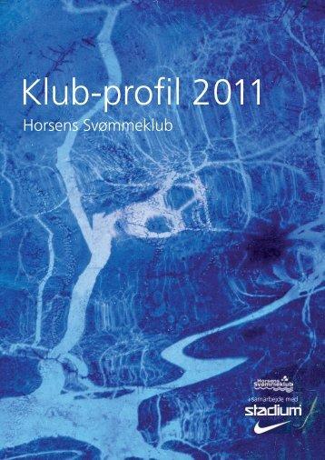 Klub-profil 2011 - Horsens Svømmeklub