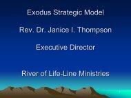 Exodus Strategic Model