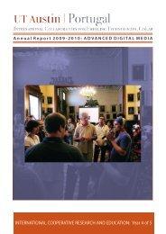 CoLab Annual Report 2009-2010: Digital Media - UT Austin ...
