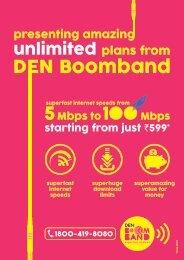 DEN Broadband Packages - DELHI - DEN Networks