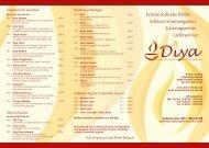 Feinste indische Küche Schöner Sommergarten ... - Restaurant Diya