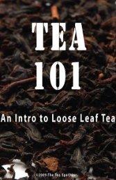 Tea 101 book - The Tea Spot