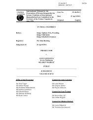 Gotovina et al Judgement Volume II - ICTY Court Records