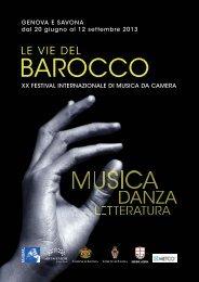 Programma dettagliato 2013 - Collegium Pro Musica