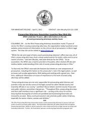 Prosecuting Attorneys Association Launches New Web Site - Ohio ...
