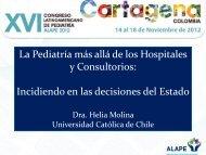 La Pediatría más allá de los Hospitales y Consultorios ... - Alape