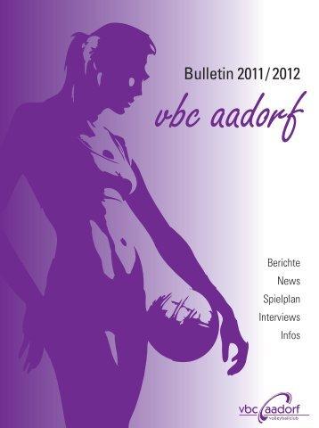 PDF, 7.00 MB - VBC Aadorf