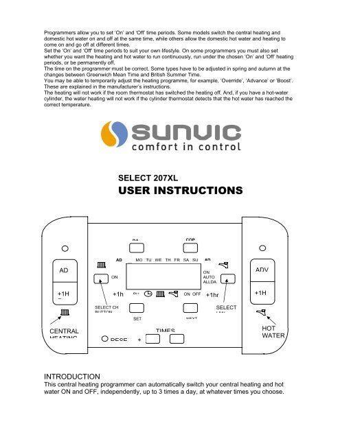 Sunvic Select 207 Xl Wiring Diagram