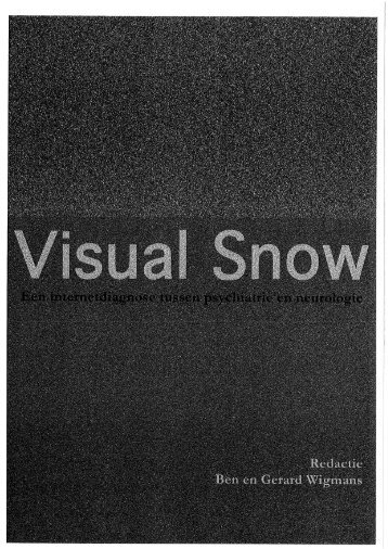 Page 1 Page 2 Visual Snow _ Een internetdiagnose tussen ...