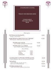 Pfifferlingskarte ABEND ab 18.8.FH10 - Restaurant Dressler