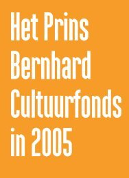 Het Prins Bernhard Cultuurfonds