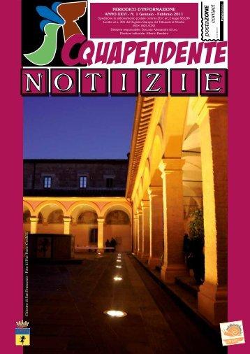 Gennaio - Febbraio 2011 - Comune di Acquapendente
