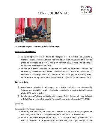 VER MÁS: HOJA DE VIDA - Poder Judicial