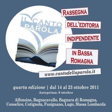 Cantoparola 2011 libretto leggero[1].pdf - Romagna d'Este