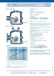 RIFOmat Float - Controlled Trap Model Minox G / F - Rifox-Hans ...