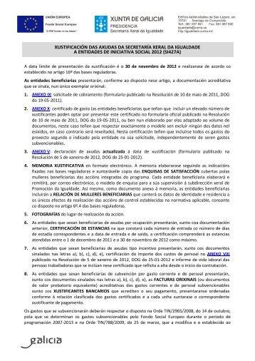 si427a - Mulleres en Galicia - Xunta de Galicia