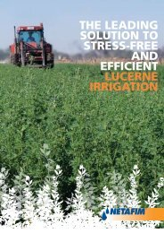 tHe LeaDing SoLution to StreSS-free anD efficient Lucerne ... - Netafim