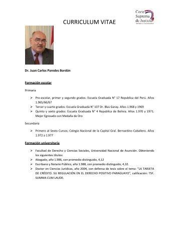 HOJA DE VIDA - Poder Judicial