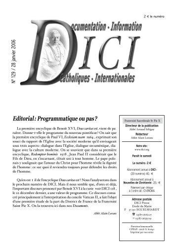 Editorial : Programmatique ou pas ? - Dici