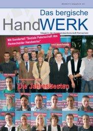 Ausgabe 04 I 2011 - Innung fuer Elektrotechnische Handwerke ...