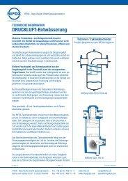 DRUCKLUFT-Entwässerung - Rifox-Hans Richter GmbH