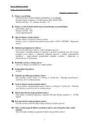 Evidencija radnog vremena- dokumentacija za nadmetanje - NSK