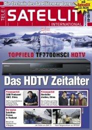 TELE-satellit + CD-ROM SatcoDX - TELE-satellite International ...