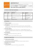 Spárovací lepidlo fermacell - bezpečnostní list - Page 2