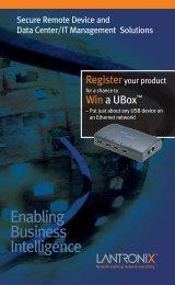 Lantronix_Brochure_In-Box - CST Electronics