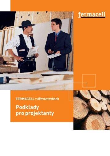 Zpracování desek fermacell v dřevostavbách, podklady pro projektanty