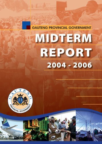 Mid Term Report - Gauteng Online