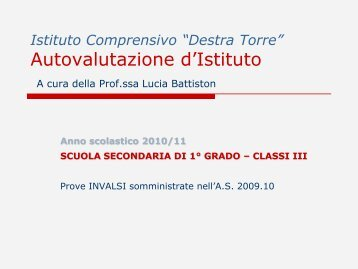 Commento - Icdestratorre.it