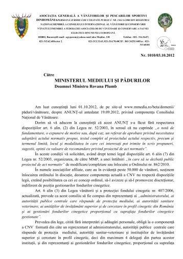 Textul complet al adresei - AGVPS