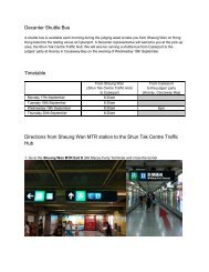 Decanter Shuttle Bus Timetable Directions from ... - amiando.com