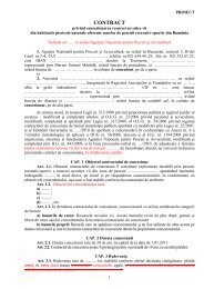 Textul complet al protocolului - AGVPS