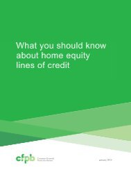 consumer guide to home equity lines of credit. - Hanscom Federal ...