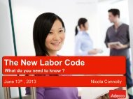 The New Labor Code