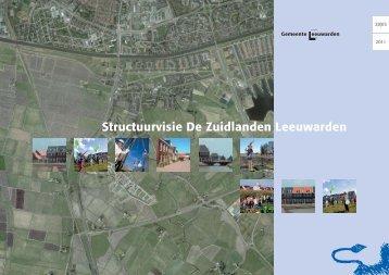 structuurvisie de zuidlanden leeuwarden - Gemeente Leeuwarden