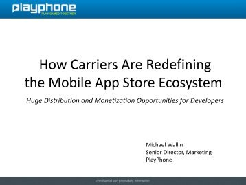 How Carriers Are Redefining the Mobile App Store Ecosystem