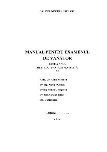 Manual pentru examenul de vanator.pdf - AGVPS