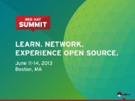 Red Hat Access embedded in RHEV - Red Hat Summit