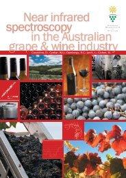 Near infrared spectroscopy in the Australian grape and wine industry