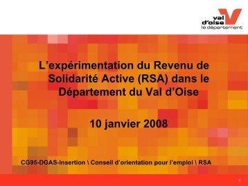 Val d'Oise - COE