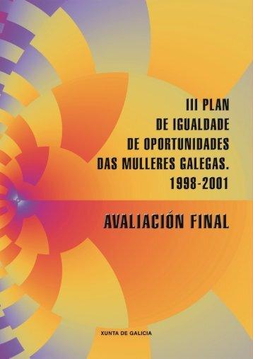 III Plan de igualdade de oportunidades das - Mulleres en Galicia