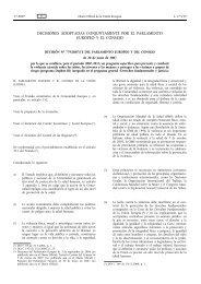 Decisión 779/2007/CE