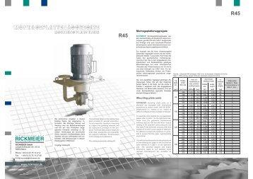 R45 R45 - RICKMEIER Pumpentechnologie