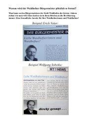 Beispiel Erich Vetter: Beispiel Wolfgang Sobotka: - Soup